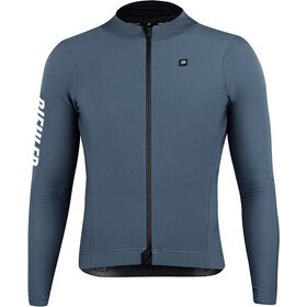 Biehler Thermal Rain LS Jersey Men, dark silver